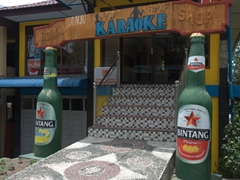 Bintang beer entrace; Tuk Tuk Village