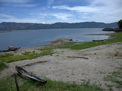 Lake Toba view from Museum Huta Bolon Simanindo