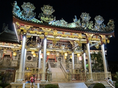 Khoo Kongsi Temple at night
