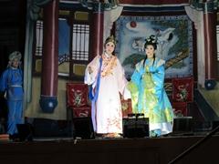 Opera performers; Hock Teik Cheng Sin Temple