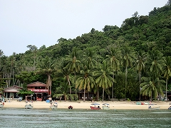 View of Big Perhentian Island