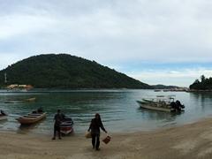 Panorama of Pulau Perhentian Kecil