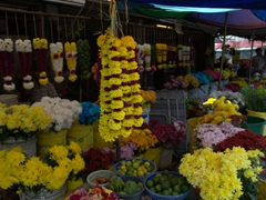 Little India flower vendors