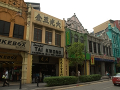 Architecture in KL's Chinatown district