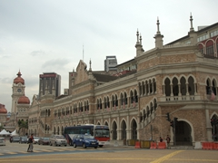 Another view of the Sultan Abdul Samad Building which originally housed the offices of the British Colonial Government