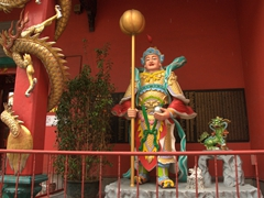 Entrance to Taoist temple Guan Di