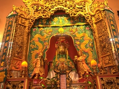 Altar of Guan Di, considered one of the most impressive Chinese temples in KL