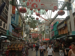Petaling Street - the heart of Chinatown where haggling is commonplace; Kuala Lumpur
