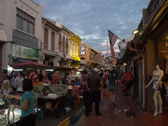 Jonker Street on a Saturday night