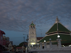 Kampung Kling Mosque on the infamous Harmony Street; Malacca