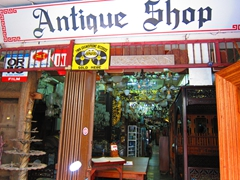 Antique shop on Jalan Tun Tan Cheng Lock