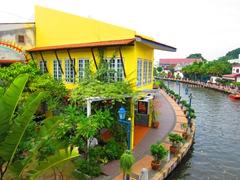 Malacca river scene