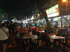 The most famous food street in KL for good reason! Jalan Alor is a foodie's paradise
