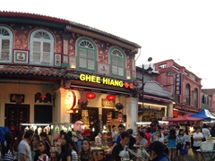 Panorama of Jonker Street, the place to be on a Friday, Saturday or Sunday night!