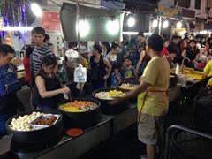 Dim sum vendor; Jonker Street night market