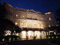 Raffles Hotel - let's get our drink on!