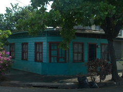Typical house in Puntarenas