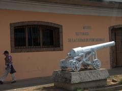 Exterior of Puntarenas' History Museum