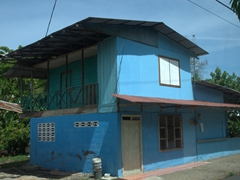 A typical Costa Rican cottage
