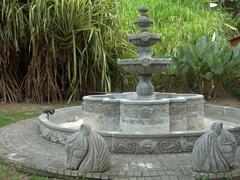 Water fountain; colonial village of Santa Lucia