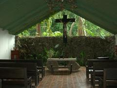 Interior view of the church; Villa Lapas