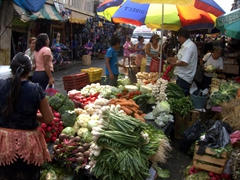 Open market area of Tapachula