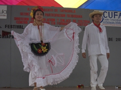 We were surprised to see dozens of teenagers performing at the Dance Festival; Tapachula