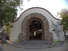 Santa Cruz's little church by the beach; Huatulco