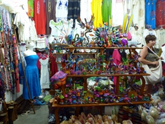 There are dozens of similar stores in Santa Cruz selling tacky souvenirs but nothing is bargain priced; Huatulco