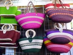 Colorful handbags for sale; Santa Cruz