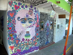 Colorful wall decor; Puerto Vallarta