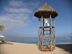 A simple lifeguard shack; Puerto Vallarta