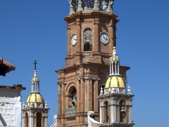 Bell tower of Cathedral of Our Lady of Guadalupe