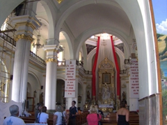 Interior view of Cathedral of Our Lady of Guadalupe