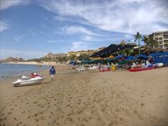 The lovely Medano Beach; Cabo San Lucas
