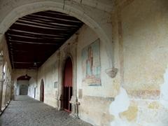 Frescoes are still visible at the Convento de San Antonio de Padua; Izamal