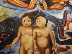 Interesting artwork at Mundo de Maya, a cooperative shop in Merida