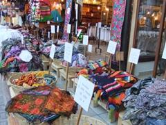 More souvenir kitsch for sale; Playa del Carmen