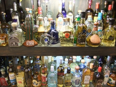 A tequila lover's delight; a wide range of different options at the Tequila Museum; Playa