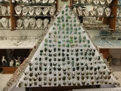 A pyramid of silver jewelry; Playa del Carmen