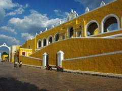 Pretty view as seen from Izamal's town square