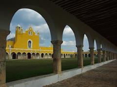 Scenic view of Izamal's Convento de San Antonio de Padua