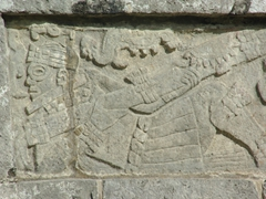Chichen Itza's detailed carvings are in remarkable shape