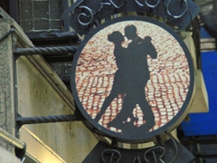 Tango bar; Buenos Aires
