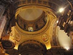 Interior dome of the Catedral Metropolitana