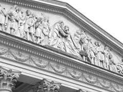 Detail of the Catedral Metropolitana; Plaza de Mayo; BA