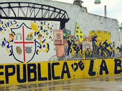 La Boca soccer is taken almost to a spiritual level in BA