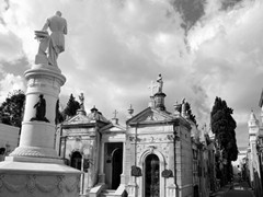 Our guide told us we'd be missing out if we didn't visit La Recoleta Cemetery, and we were glad we took his advice