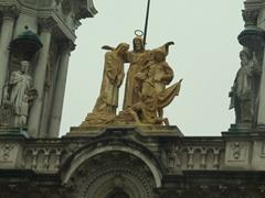 Detail of a church; Buenos Aires