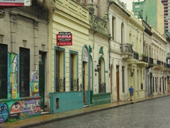 The streets of San Telmo are a great place to wander about; Buenos Aires